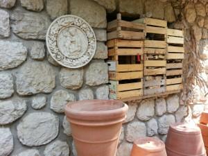 Opbevaring i pottemagerens gårdhave