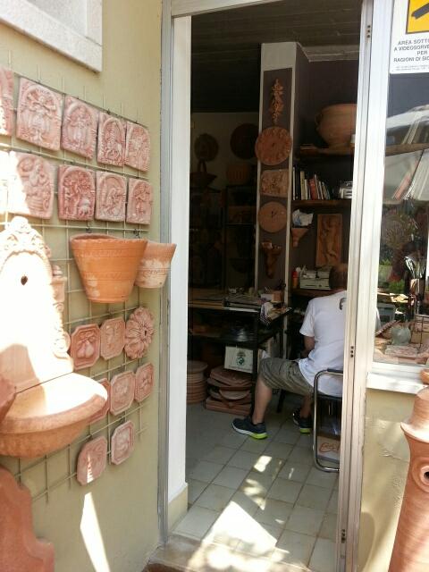 Pottemagerens butik i Torri del Benaco